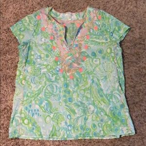 Lilly Pulitzer Top. Size xL